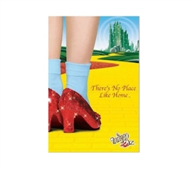 Wizard of Oz Home College Poster Cool Posters for Dorm Rooms Dorm Room Decorations
