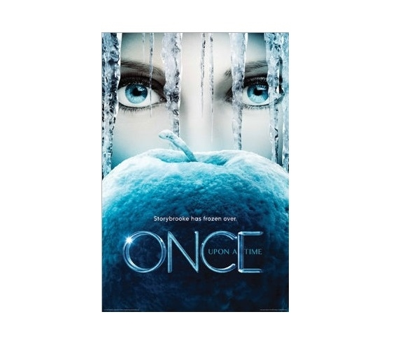 Once Upon A Time Frozen Poster