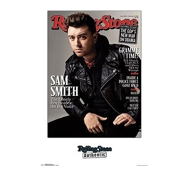 Rolling Stone - Sam Smith Poster