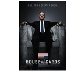 House of Cards - Bad Poster