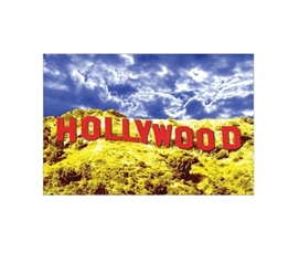 Hollywood Red Poster Wall Decorations for Dorms College Supplies College Wall Decor