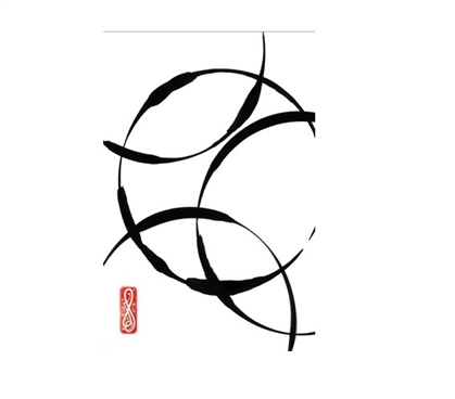 Wall Decorations for Dorms College Wall Decor Zen Circles 2 College Poster