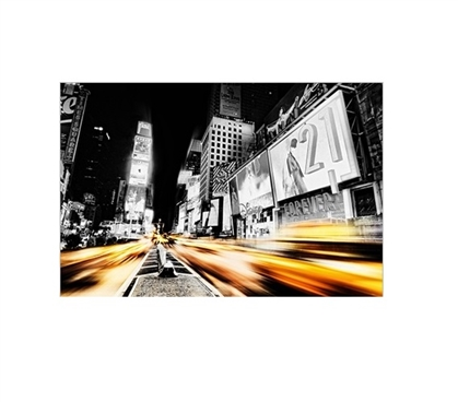 Time Lapse Square College Poster Cool Posters for Dorm Rooms Dorm Room Decorations