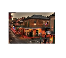 Evening On Bourbon Dorm Room Poster Dorm Room Decorations College Supplies