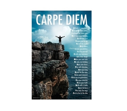 Carpe Diem Dorm Poster Dorm Room Decorations