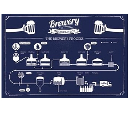 Brewery Infographic Poster