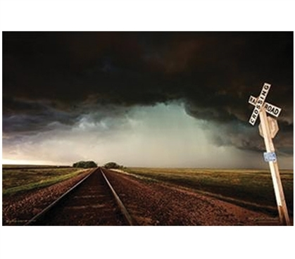 Storm Tracks Poster