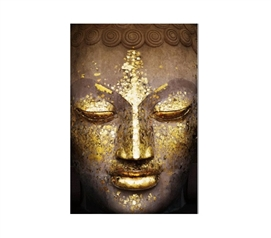 Dorm Room Decor Buddha Gold College Poster Dorm Wall Art