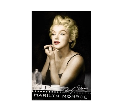Marilyn Monroe Lipstick College Poster Dorm Room Decorations College Wall Decor