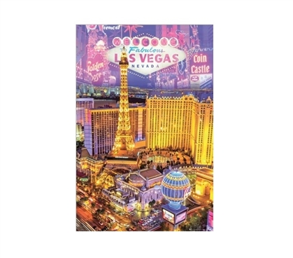 Las Vegas Collage Dorm Poster Dorm Room Decorations Dorm Room Decor