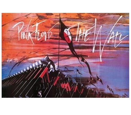 Pink Floyd The Wall Hammers By Roger Waters Poster