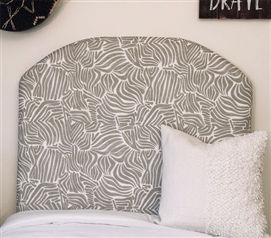 Grey Dorm Room Headboard for Twin XL Bedding Osin Stylish Handmade College Decor