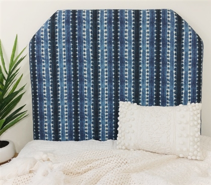 Sun N Shade Java Journey Indigo College Headboard