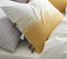Ombre Sunset Sham - Ochre (2-Pack)