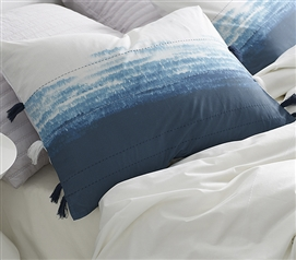 Ombre Twilight Sham - Ocean Depths Teal (2-Pack)