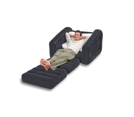 2 In 1 Pull Out Dorm Furniture Lounger