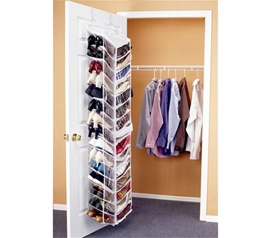 Shoes Away Over the Door Organizer Dorm room shoe organizer