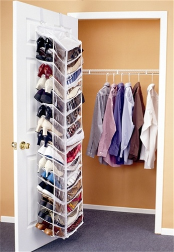 Shoes Away Over The Door Organizer Dorm Closet Shoe