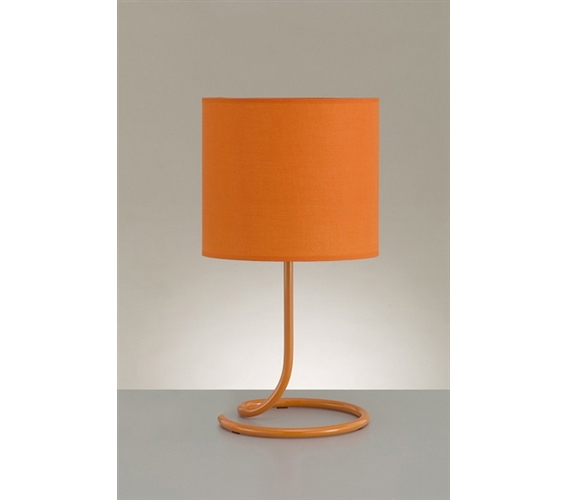 Snail's Tail Desk Lamp - Orange - Snail's Tail Desk Lamp - Orange College Products Dorm Room Lamps