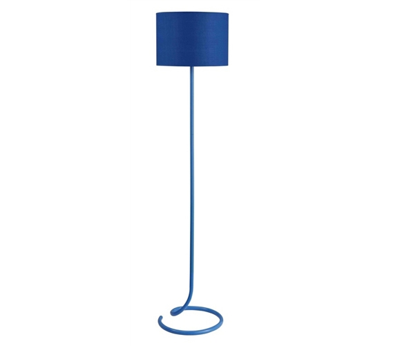 Amazing Needed For Studying   Snailu0027s Tail Floor Lamp   Spiral Blue   Adds To  College Decor Part 8