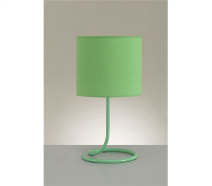 Useful College Supply - Snail's Tail Desk Lamp - Green - Great For Studying In Dorm