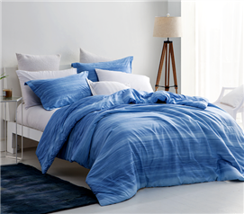 Shades of Blue College Extra Long Twin Comforter