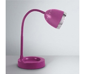 Needed For College Studying - Radiant Dorm Desk Lamp - Purple - Decorating Your Dorm