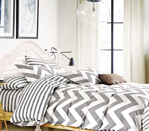 Chevron Gray Twin Xl Comforter