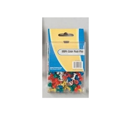 100 Color Push Pins