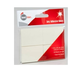 Mini Sticky Notes - 4 Pack