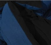 Choosing College Bedding Couldn't Be Easier - Black/Nightfall Navy Reversible College Comforter - Twin XL