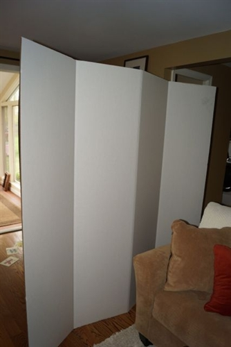 dorm room privacy barrier - dorm divider - college room divider