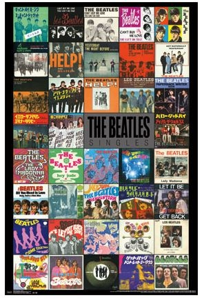 The Beatles Singles Poster College Decorations For Dorms