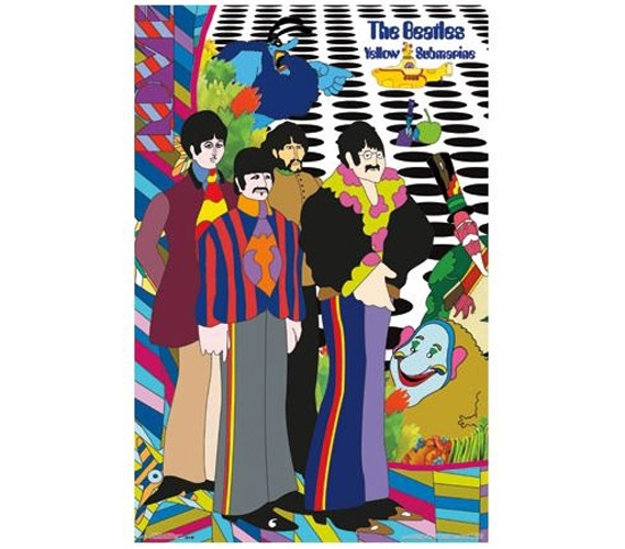 The Beatles - Cast and Crew Poster Dorm Room Decorations College Items