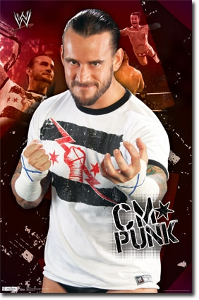 Wwe Cm Punk Poster Dorm Products For College Students