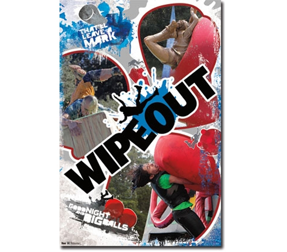 Wipeout Biff Poster College Supplies Must Have Dorm