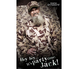 TV Posters For Fans Of Show - Duck Dynasty - Si Poster - Decorate Your College Dorm Room