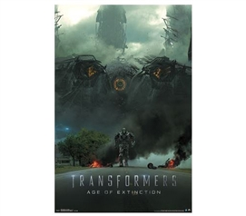 Fun Items For College - Transformers 4 Poster - Decorate Your College Items