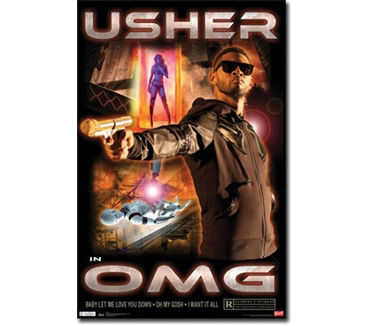 Decorate In Style - Usher OMG Poster - Great For Dorm Life
