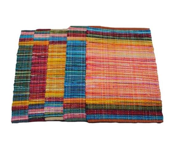 Color Splash Dorm Rug Pure Cotton