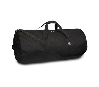Must Have College Supply - College Roadtrip Duffel Bag - Black - Great For Traveling