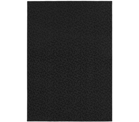 College Ivy Rug - Black College Rug Dorm Room Decorations