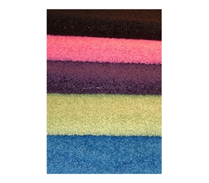 Blend of Colors - College Shag Rug - Cool Look