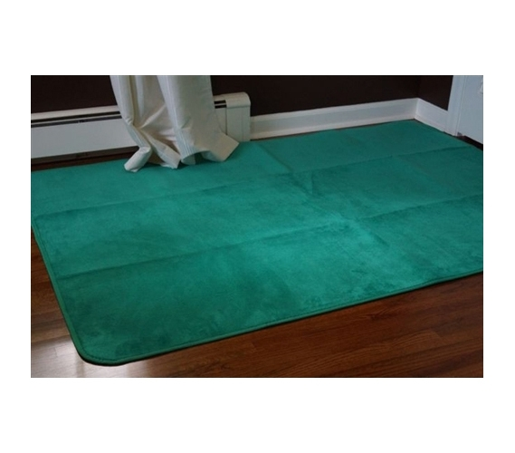 Microfiber Dorm Rug Emerald Spring Green Products For College