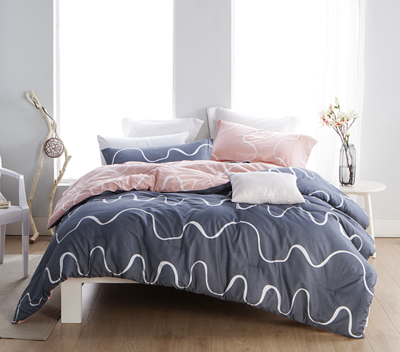 Purchase Extra Long Twin Comforters Online Reversible College Dorm Bedding