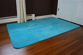 Beats The Cold Floor - Microfiber Dorm Rug - Comfy For Your Feet - Machine Washable College Rug