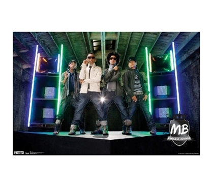 Fun College Products -Mindless Behavior Poster - Music Posters For College