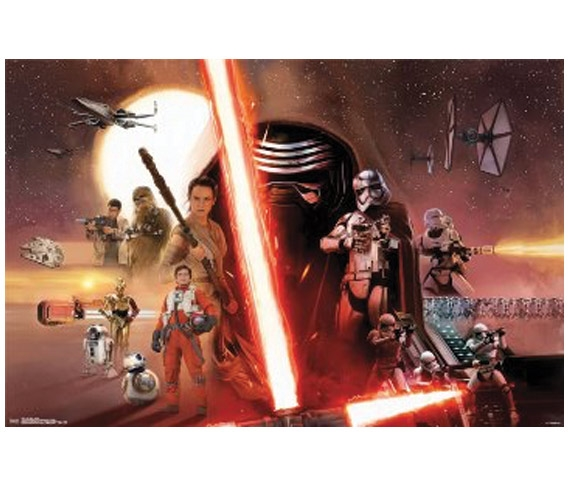 Star Wars 7 The Force Awakens Poster
