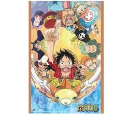 One Piece Sunny Group Poster