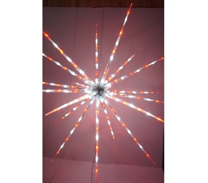 Dorm Room Decorations Red and White Starburst Dorm Light College Decor